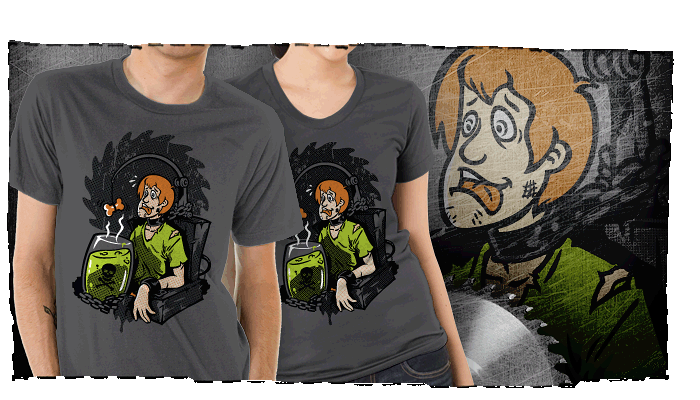 Scooby/Saw Mash Up T-Shirt