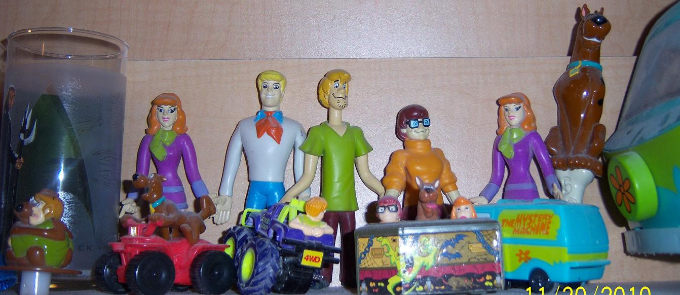 My Scooby Collection Part Redux