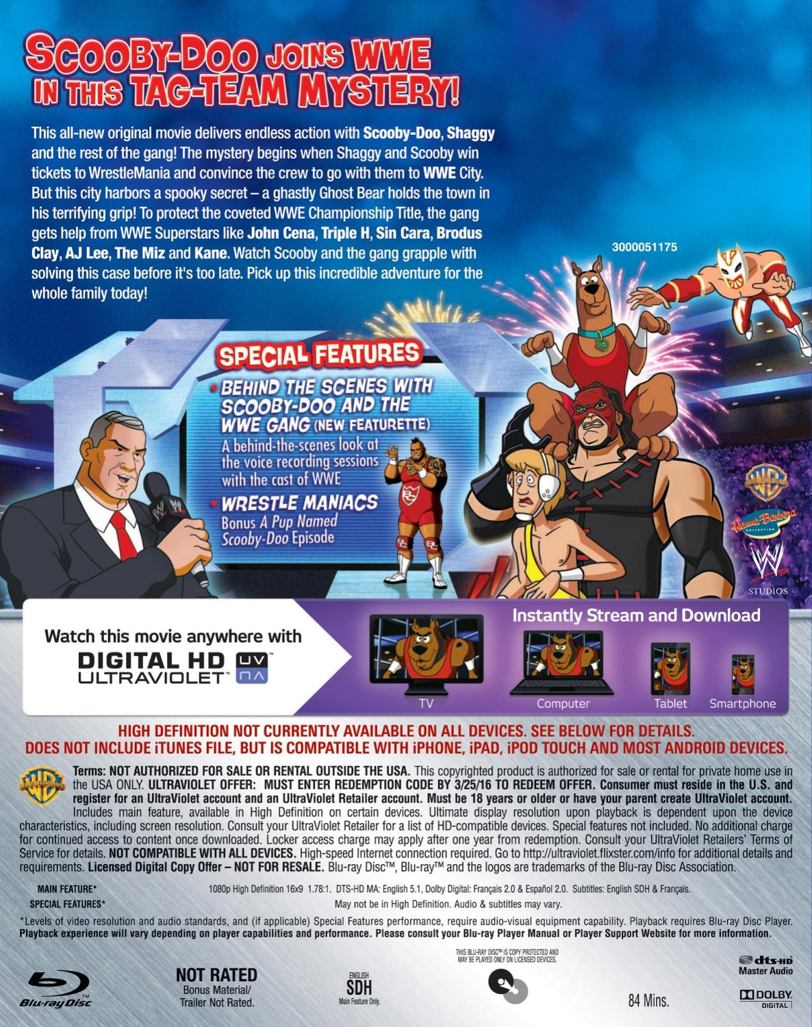 Scooby-Doo! Wrestlemania Mystery: Bonus Features & Merchandise Coming Soon