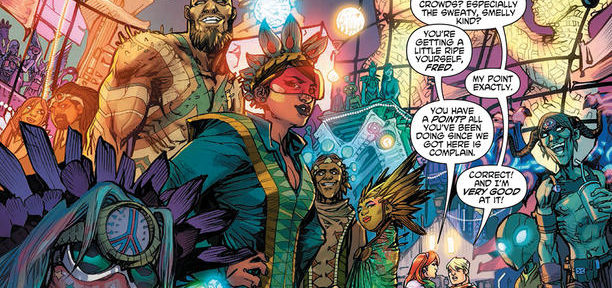 First Look at Scooby Apocalypse #1